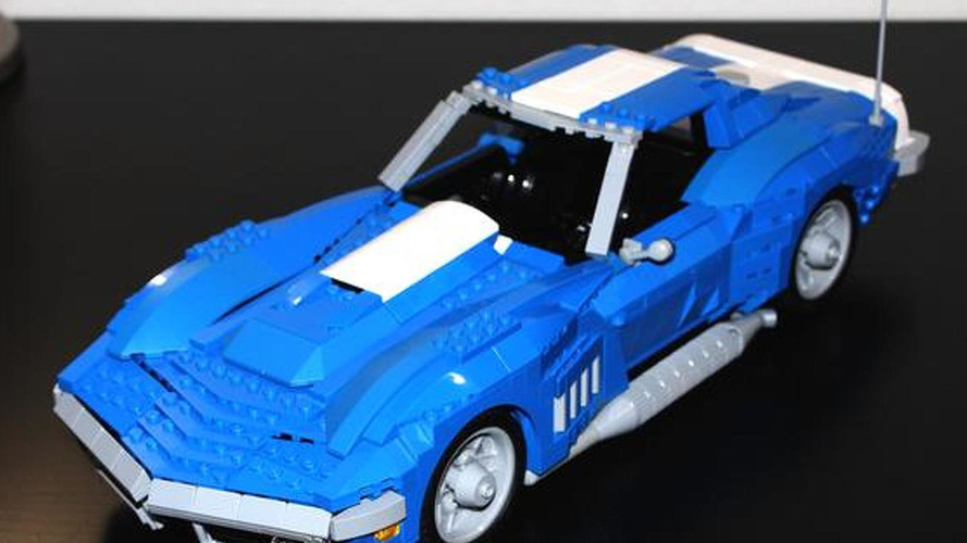 1969 Corvette gets recreated in Lego