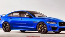 Jaguar XE SVR rendering / X-Tomi
