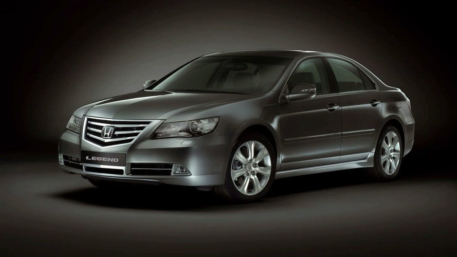 Euro Honda Legend Facelift Debuts in Moscow