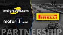 "Pirelli World Challenge anuncia Motorsport como ""Parceiro Oficial de Mídia Digital"""