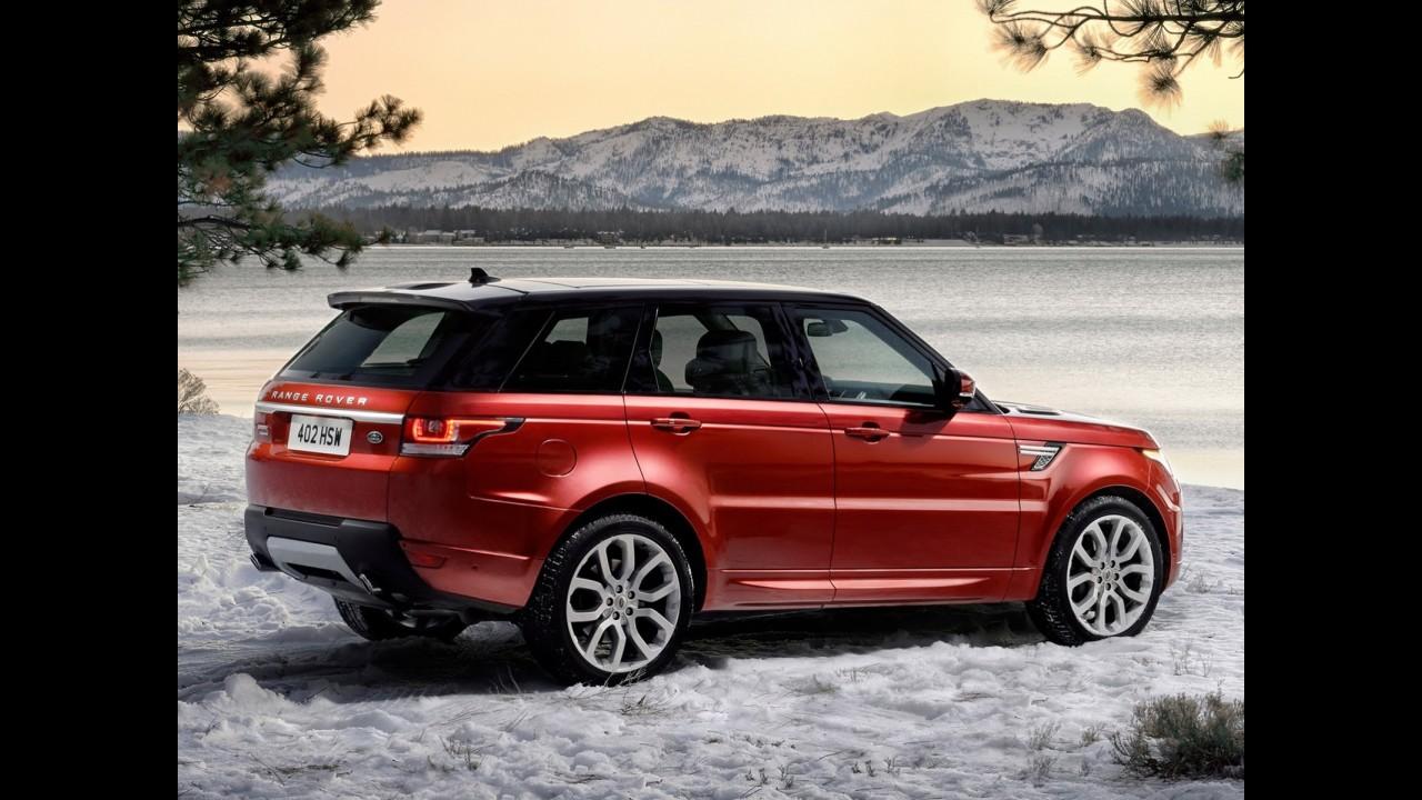 Big Evoque? Não, eis o novo Range Rover Sport 2014