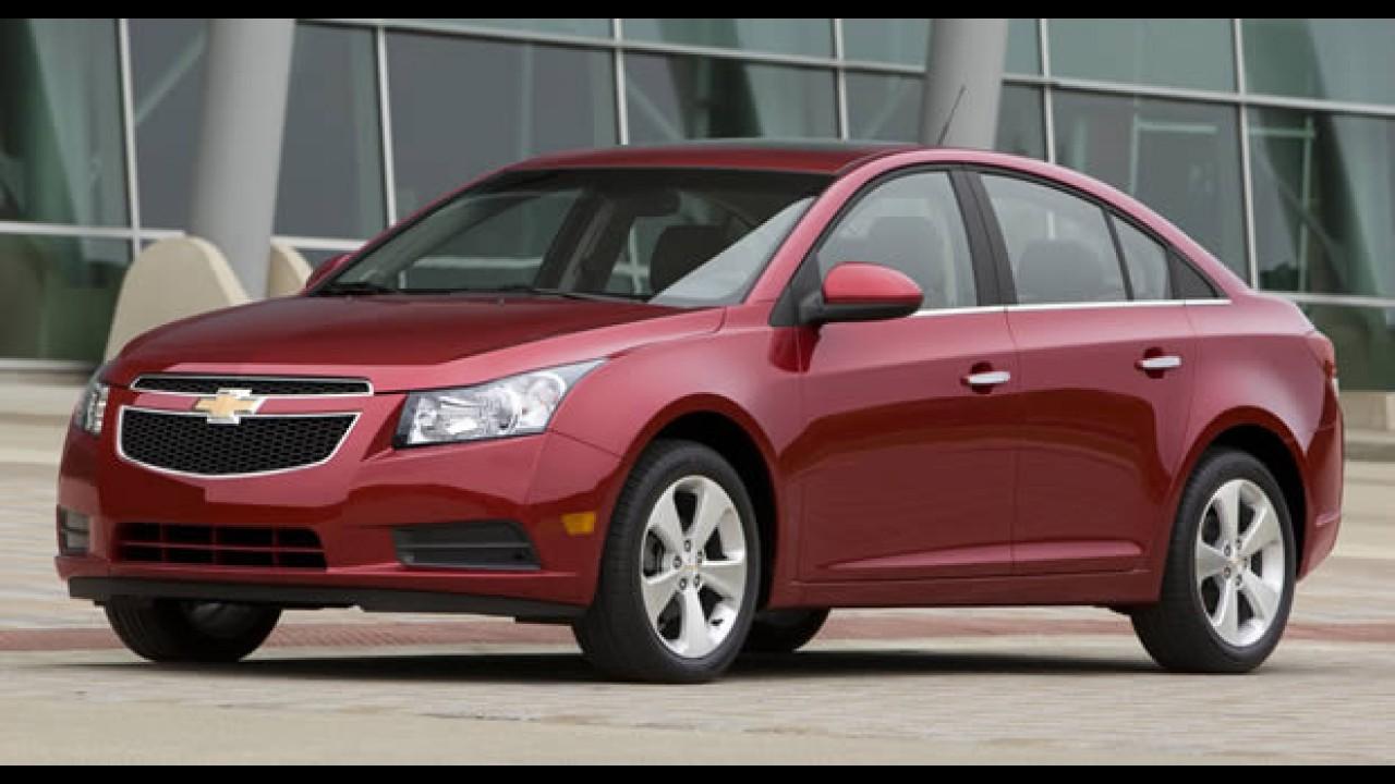 Chevrolet Cruze camuflado é flagrado na Argentina - Modelo pode chegar este ano
