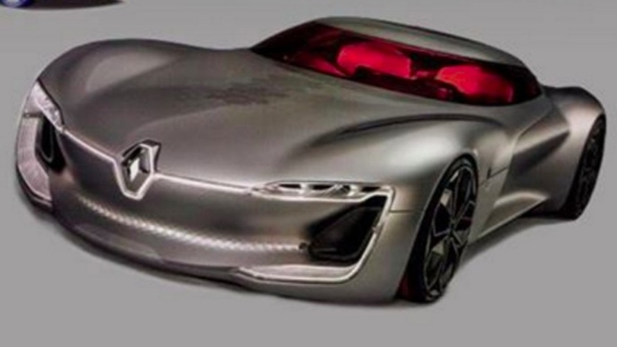 Renault Trezor concept teaser