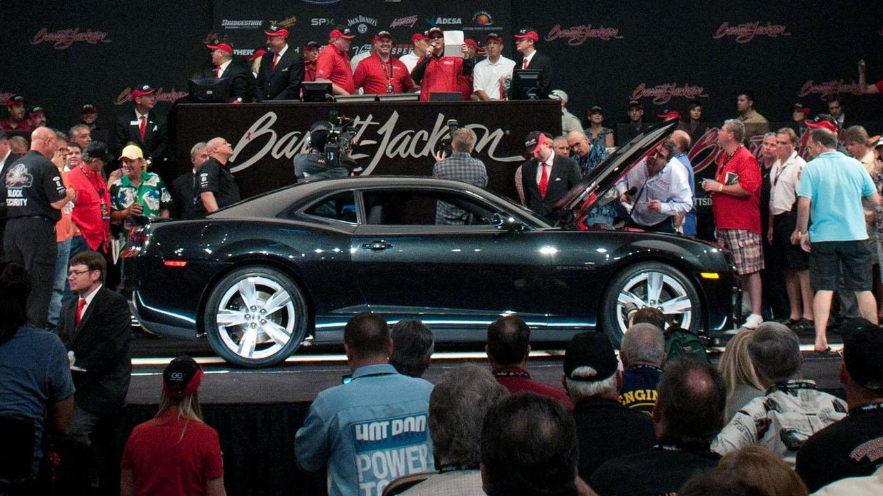 2012 Chevrolet Camaro ZL1 at Barrett-Jackson auction - 26.9.2011