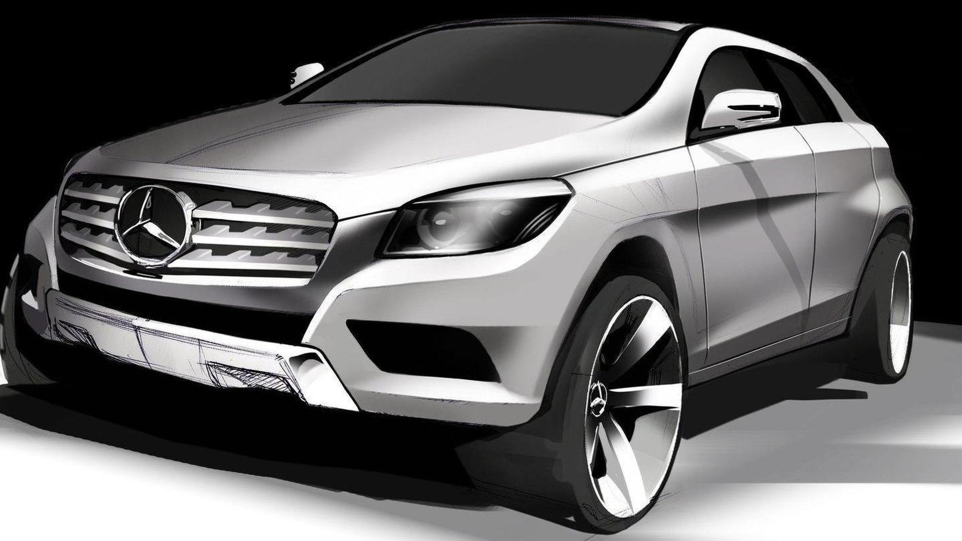 Mercedes benz to build mlc class suv at alabama plant report for Mercedes benz huntsville al