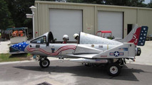 Street-legal Jet Cycle is a Honda Gold Wing motorcycle in jet fighter disguise [video]