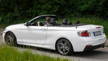 2014 BMW 2-Series Convertible spy photo