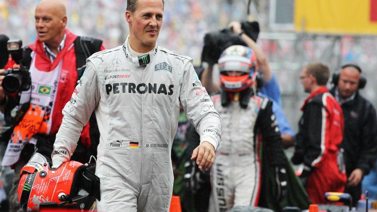 Michael Schumacher 25.11.2012 Brazilian Grand Prix