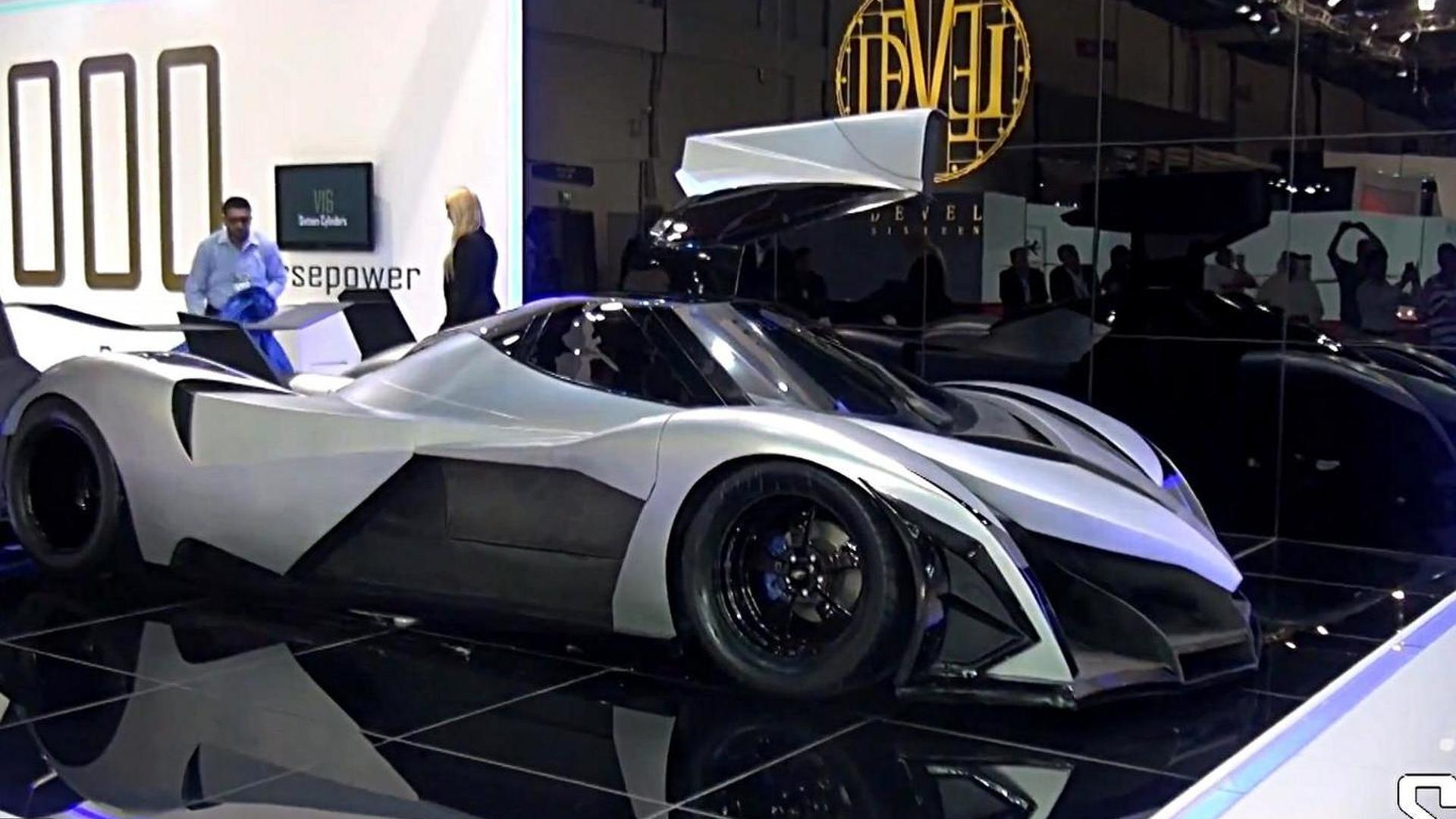 devel sixteen has an american engine new details emerge. Black Bedroom Furniture Sets. Home Design Ideas