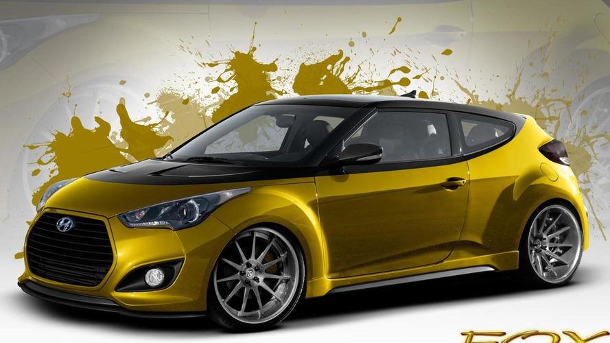 Fox Marketing Hyundai Veloster Turbo announced for SEMA
