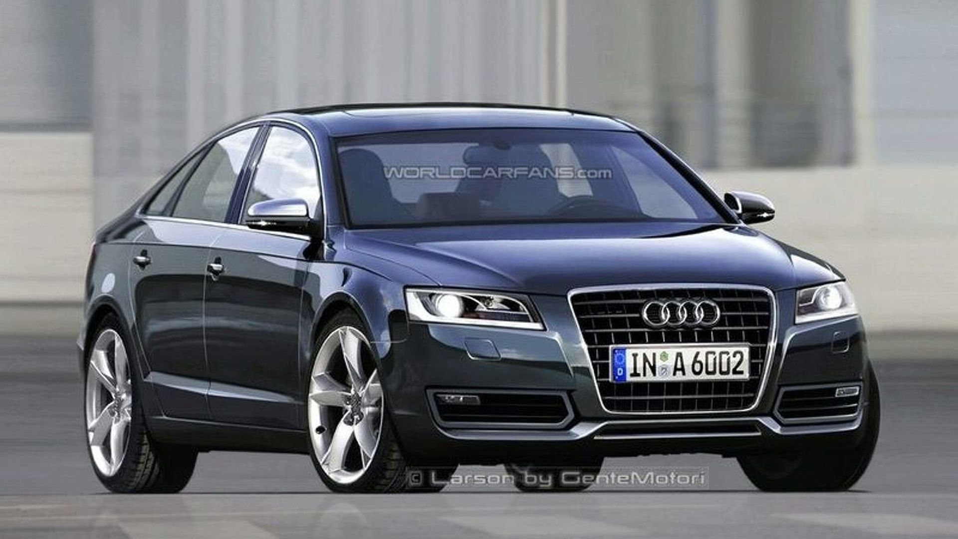 2011 audi a6 via artist 39 s eyes. Black Bedroom Furniture Sets. Home Design Ideas