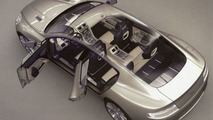 Aston Martin Rapide scans surface - first full interior view