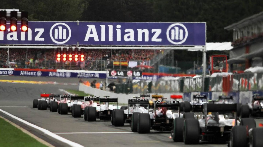'Most teams' agree outline for F1 of 2013 - report