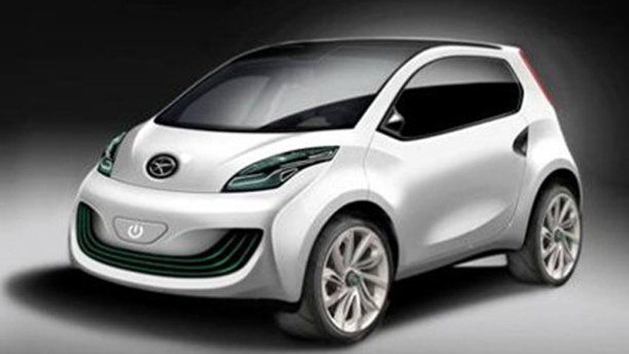 JAC IV Concept Previews smart Fortwo Rival