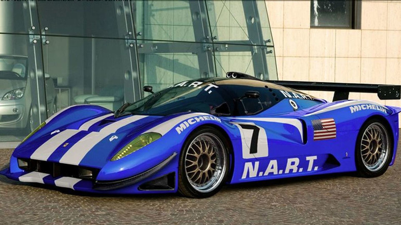 2010 Ferrari P4/5 Competizione artist rendering