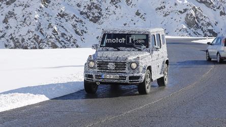 2018 Mercedes G-Class spy photos