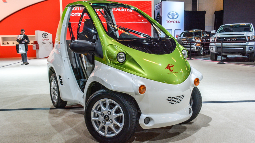 Toyota COMS, up close and personal with a quirky EV