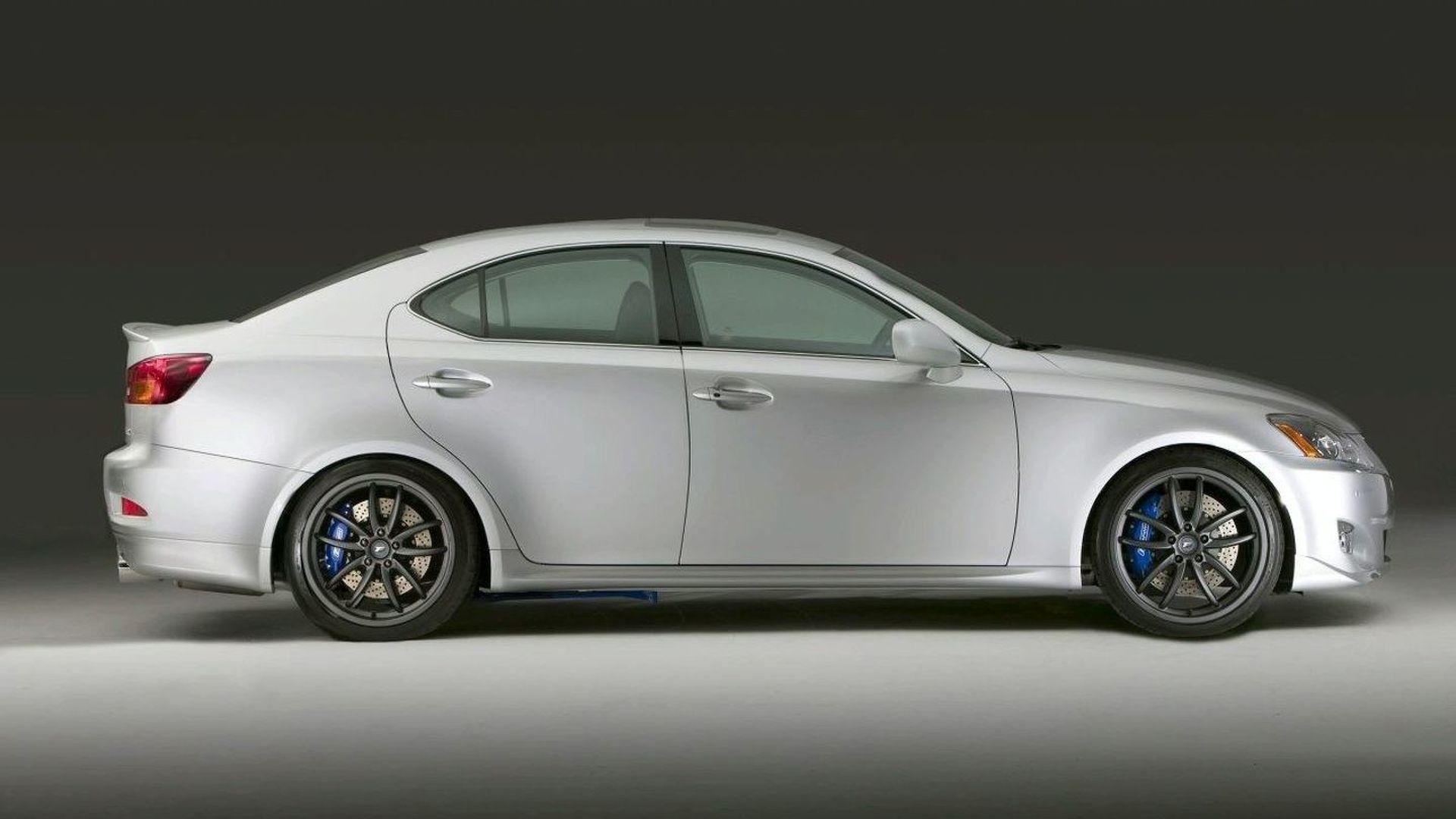 Lexus Debuts F-Sport Performance Accessory Line at SEMA