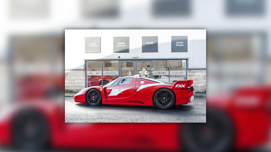 The world's only street-legal Ferrari Enzo FXX is for sale