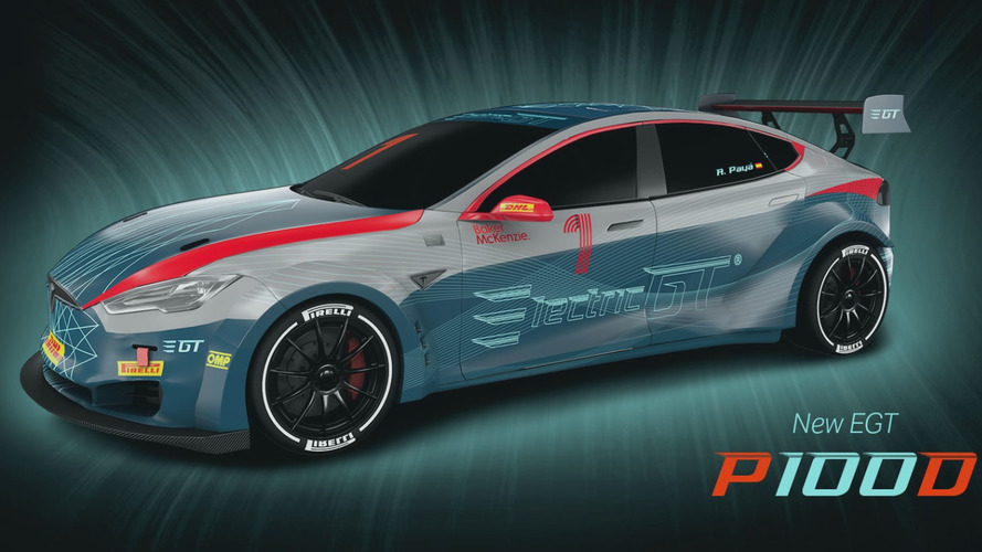 Electric GT Tesla P100DL technical and performance specs detailed