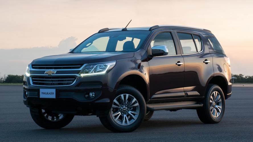 Chevrolet reajusta preço da Trailblazer pela primeira vez