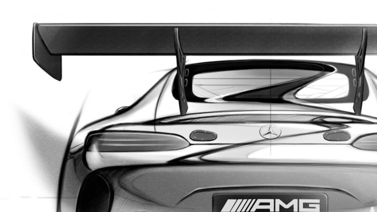 Mercedes-AMG GT3 design sketch
