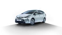 Toyota Prius+ receives minor updates for European market