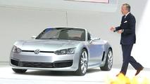 Volkswagen Concept BlueSport at 2009 NAIAS