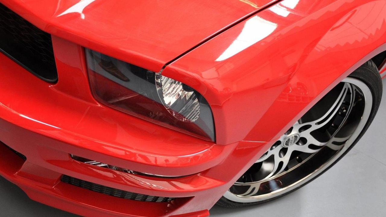 Ford Mustang styling kit by Prior Design 27.09.2011