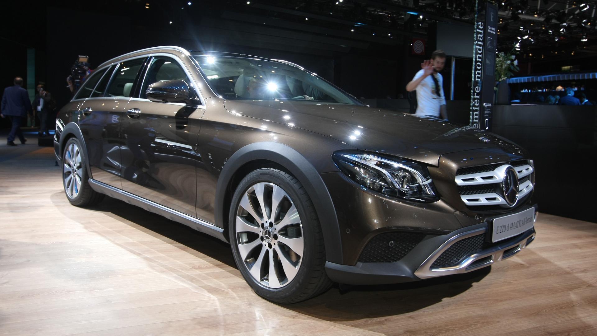 Mercedes Classe E All Terrain L A6 Allroad Dans Le Viseur