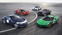 Ferrari reveals five special 70th anniversary liveries in Paris