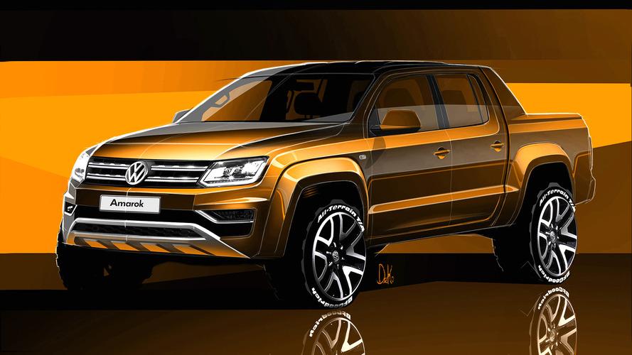 2016 VW Amarok facelift teased