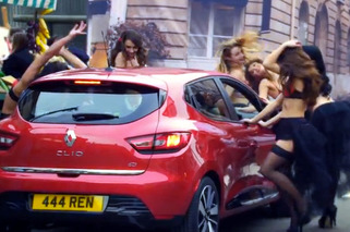 Video: Renault Clio Ad, Now with Va Va Voom