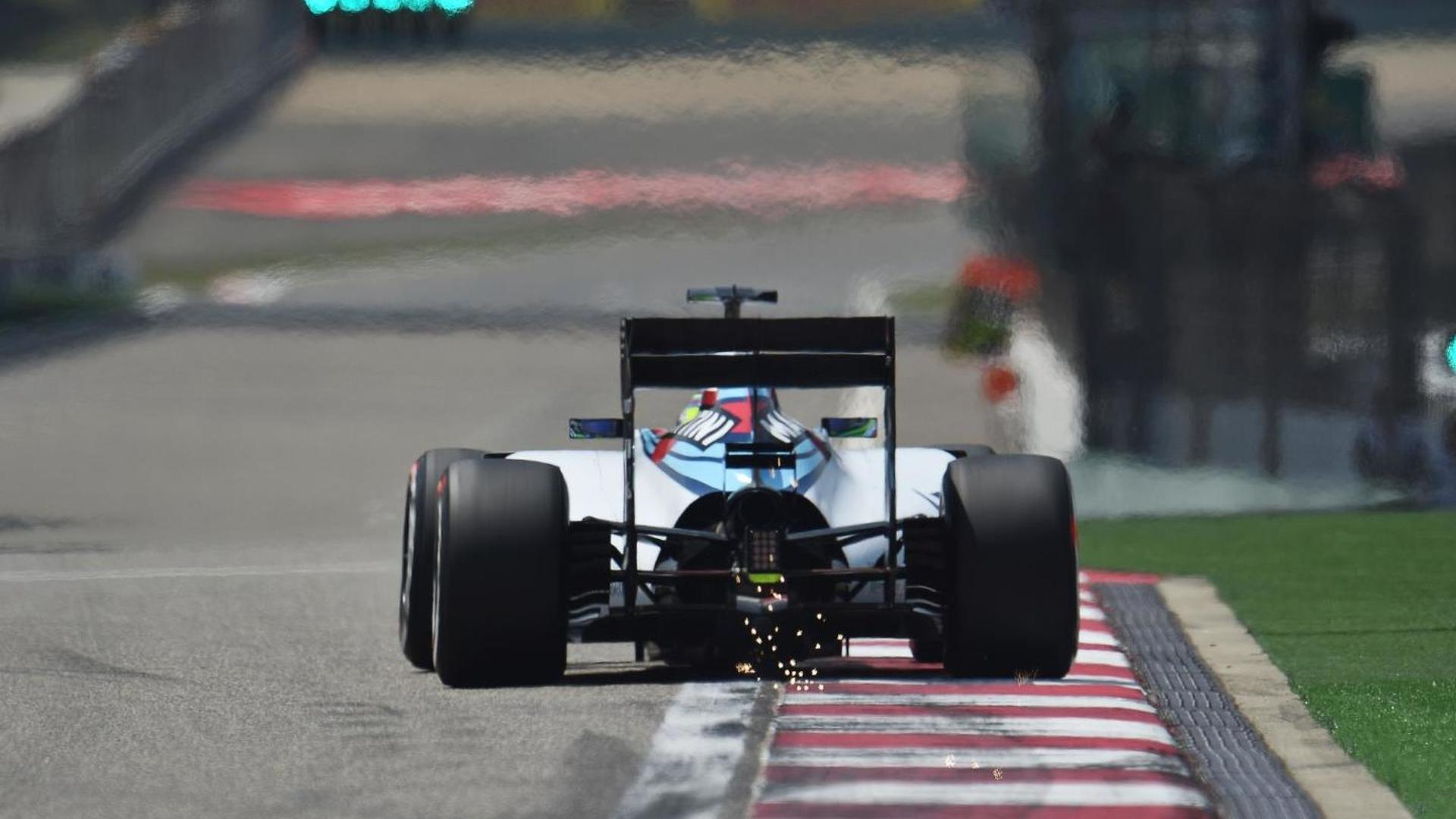 F1 sparks causing issues in Shanghai