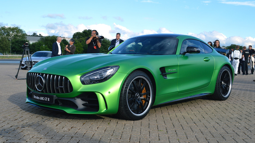 Lewis Hamilton helps launch Mercedes-AMG GT R – plus, new variants coming