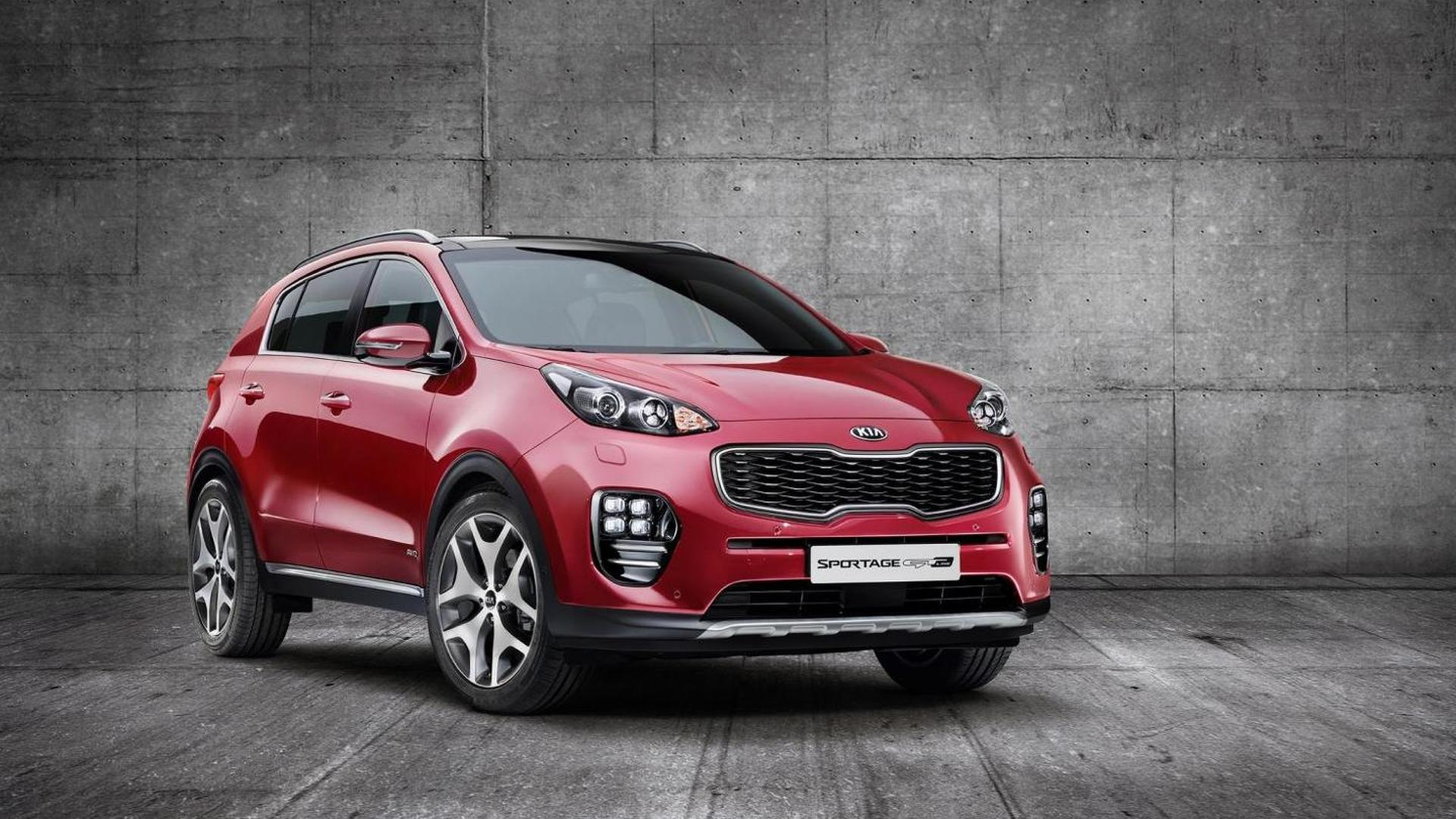 Kia Sportage first official images released