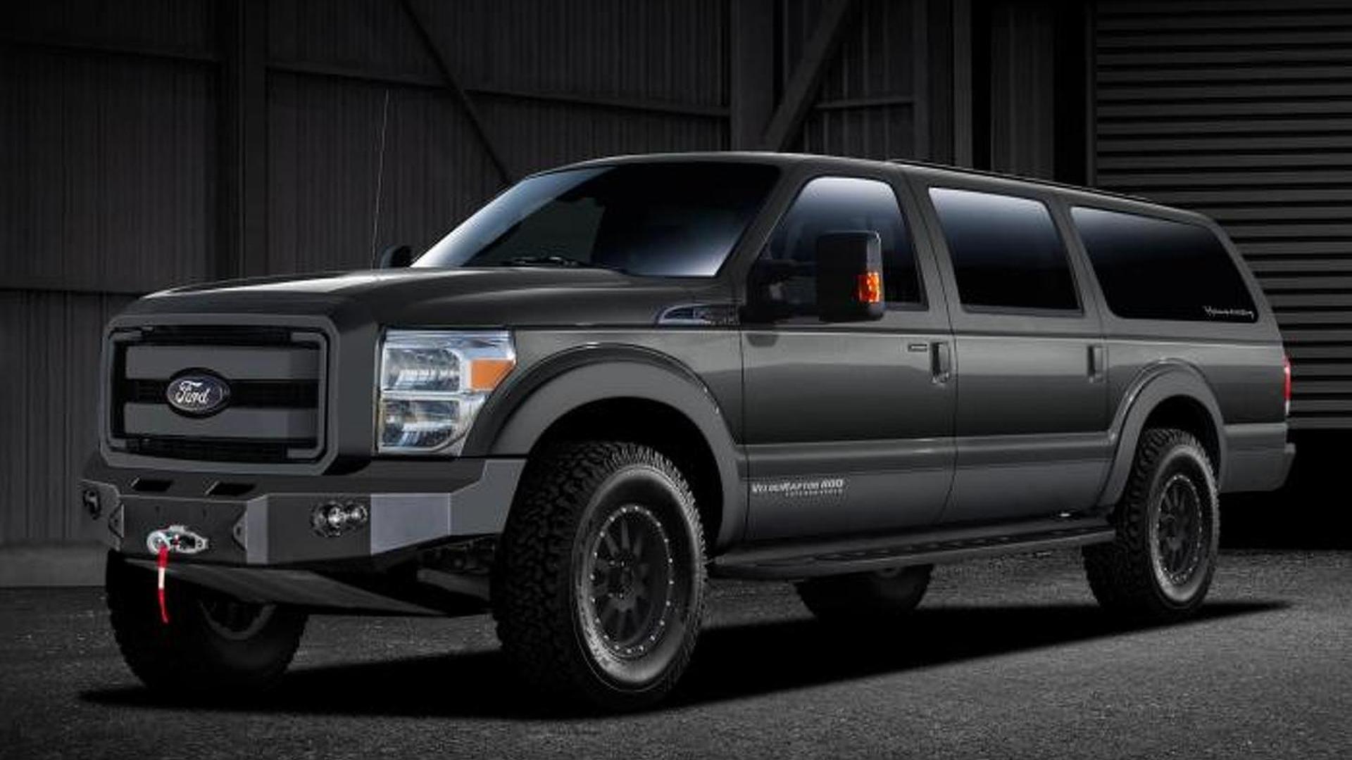Hennessey VelociRaptor SUV unveiled