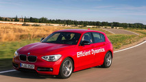 BMW 1-Series prototype with water injection