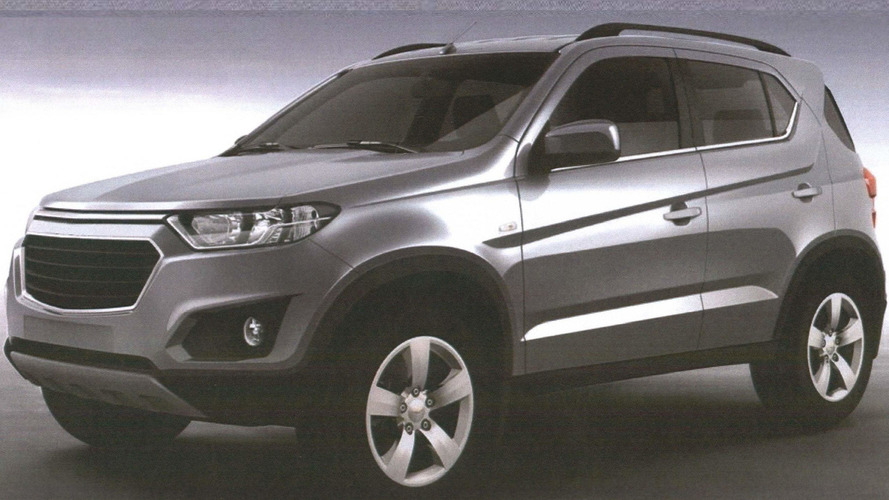 Chevrolet Niva leaked in patent images