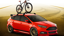 Ford teases a rally-inspired Focus ST for SEMA