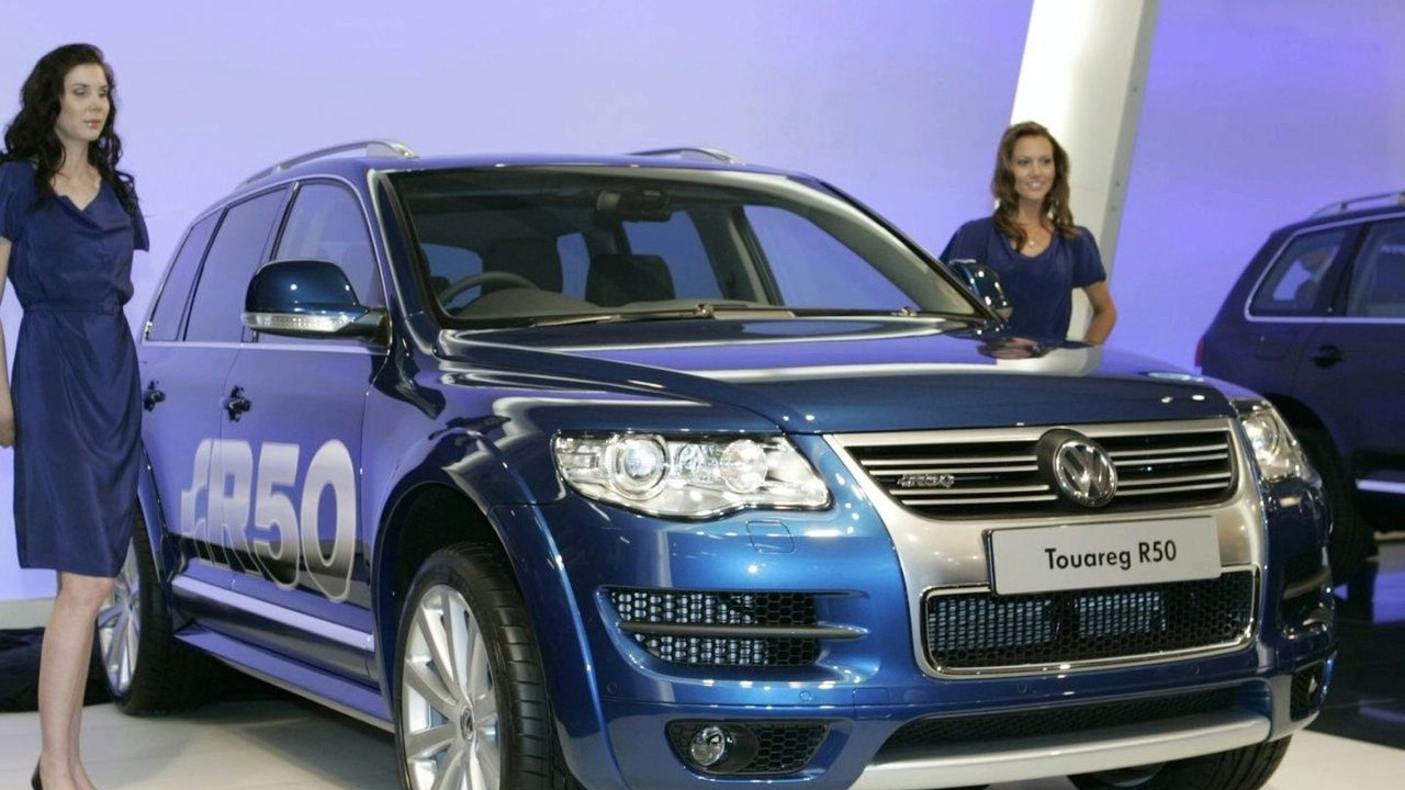 Volkswagen Touareg R50 at 2007 AIMS