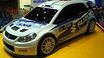 Suzuki SX4 2007 World Rally Championship Car