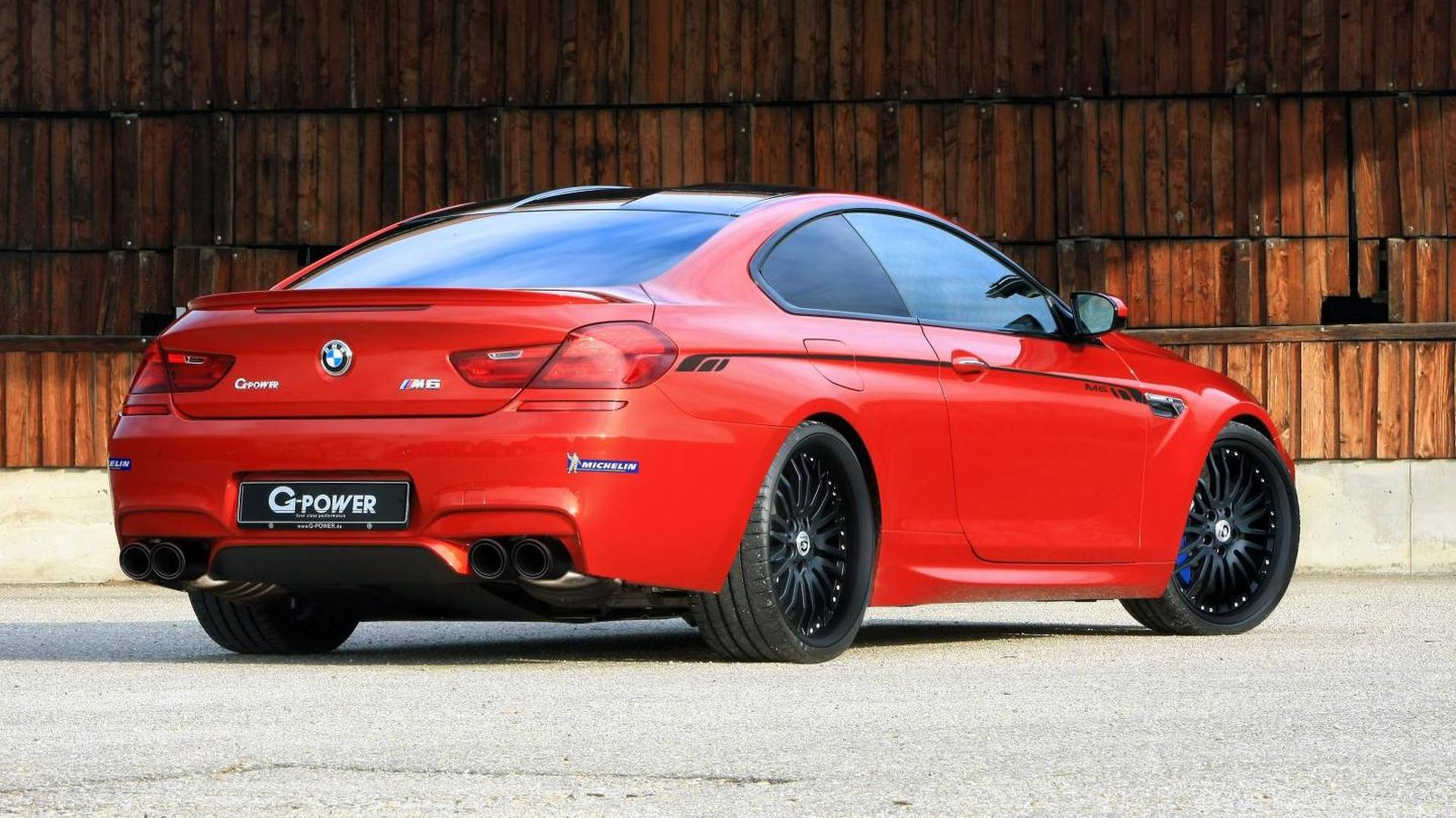 G-Power details BMW M6 Coupe tuning program