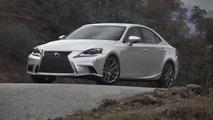 2014 Lexus IS pricing announced (US)