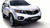2010 Kia Sorento:  First Official Images Surface with Interior Sketch
