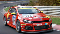 VW Returns to Nürburgring with Scirocco GT24-CNG