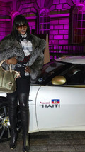 Naomi Campbell for Haiti Lotus Evora - 10.03.2010