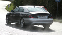 2011 Mercedes CLS Caught with Less Camouflage