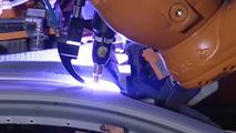 Audi A4 on Production Line