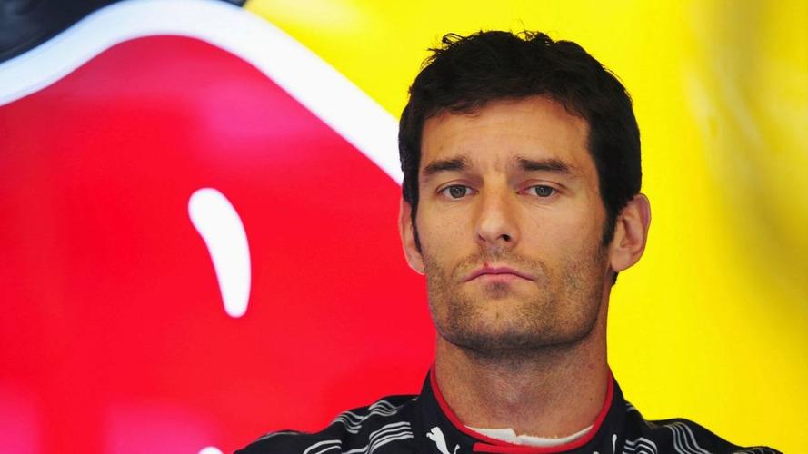 Webber reprimanded for blocking at Spa